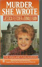 Murder She Wrote: The Highland Fling Murders 7 by Donald Bain and Jessica Fletcher (1997, Paperback)