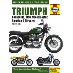 manual haynes for 2010 triumph bonneville t100 865cc efi ebay rh ebay co uk 2010 Triumph Scrambler 2010 triumph bonneville t100 service manual