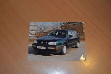PHOTO DE PRESSE ( PRESS PHOTO ) Volkswagen Golf Rabbit Variant de 1995 VW256