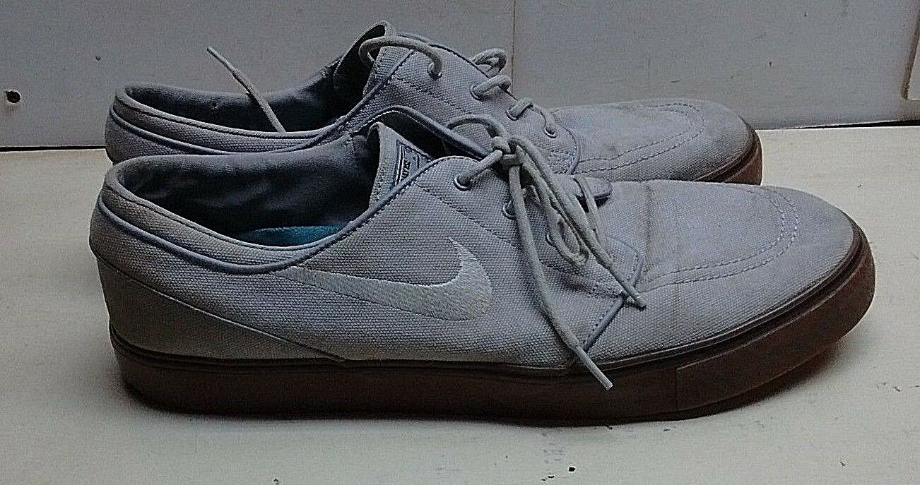 Nike SB Stefan Janoski Brown Fabric athlétique Sneaker Lace Sport chaussures 13 M homme