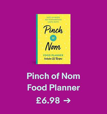 Pinch of Nom Food Planner