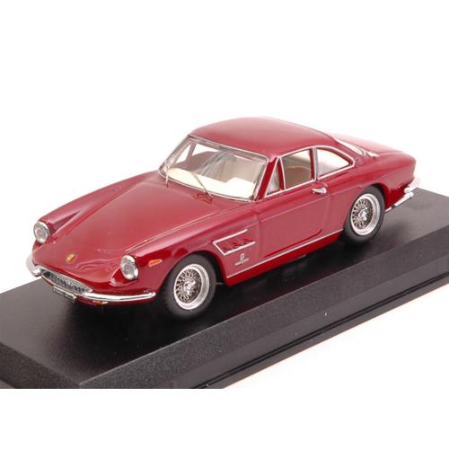 FERRARI 330 GTC COUPE' 1966 rosso METtuttiIC 1 43 Best modello Auto Stradali Die Cast
