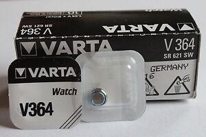 22-x-Baterias-Original-ampolla-Varta-V364-V-364-364-SR-621SW-HASTA-2019