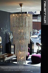Grand-moderne-Crystal-Chandelier-Longueur-250-cm-24-bruleurs-80-cm
