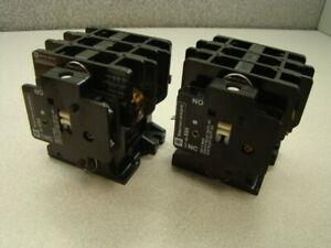Telemecanique-2200EB230EA-Magnetic-Contactor-3-Pole-w-EB5-Aux-Contact-QTY-of-2