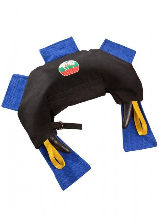 Dax-sport-grip Gilet per Bulgarian borsa. S-XL. Fitness. tuttienamento della forza. Judo.