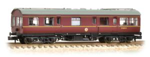 Graham-Farish-374-876-LMS-50ft-Inspection-Saloon-BR-Maroon-N-Gauge