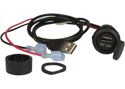 Jensen HDUSB Harley Davidson USB input jack replaces factory cigarette lighter