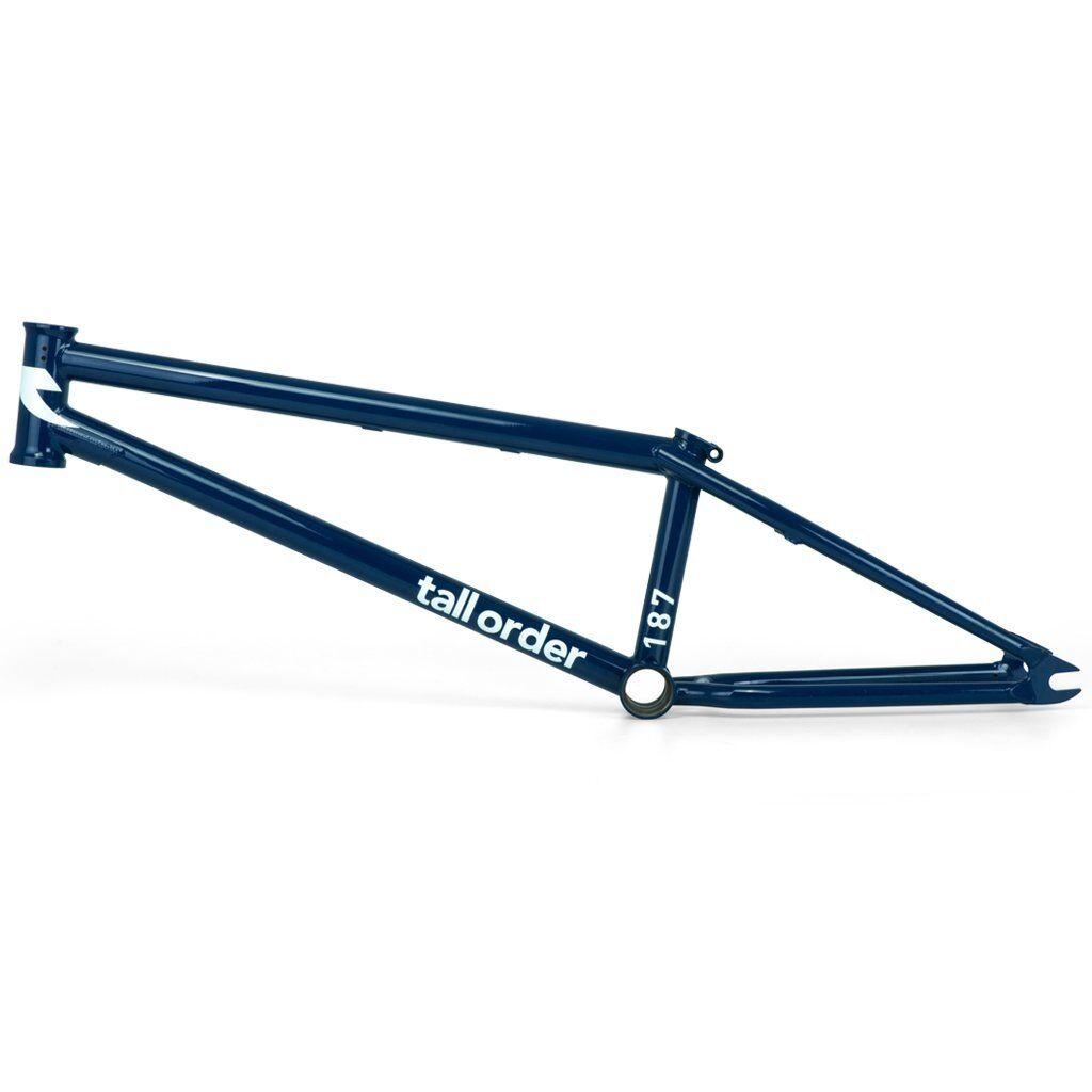 Orden de alto brillo de 187 cuadro de BMX azul profundo 20.4 Bicicletas Bicicleta 20.4  Sebastian Keep