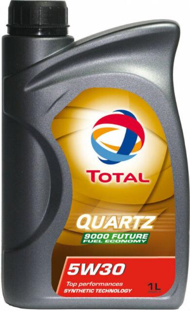 Total Quartz Coche Aceite de Motor Del 9000 Futuro NFC Económico 5W30-1L Ford