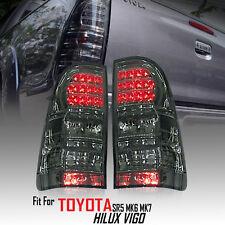Smoke Len Rear Tail light Lamp LED Toyota Hilux Vigo SR5 Mk6 Champ Mk7 2005-2014