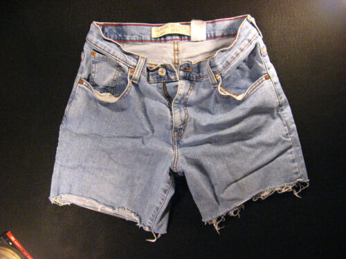 Dukes Red 550 29 Shorts Cut Levis Zipper Tab Off Denim Cutoff Daisy Jean 74z54pfxn