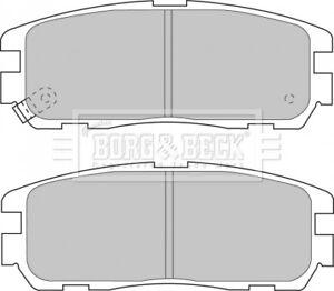 BORG-amp-BECK-Disque-Lot-de-plaquettes-de-frein-Pads-BBP1517-Genuine-Garantie-5-an