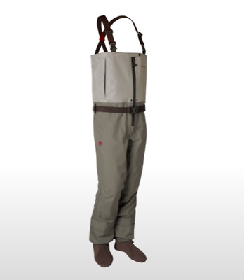 Redington Escape Zip Front Wader S M And L Free Shipping Ebay