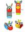 miniature 2 - Baby Sensory Toys Pied-Finder Chaussettes Poignet Hochets Set Bracelet Cadeaux Chaussette Hiver
