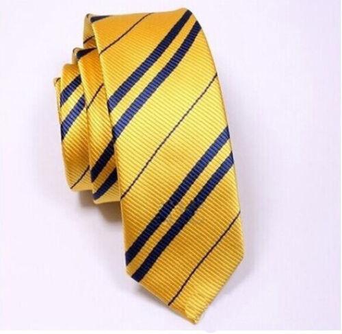 Krawatte Nadelstreifen Kostüm Krawatte Harry Potter Hogwarts Haus-Zauberer T/%b