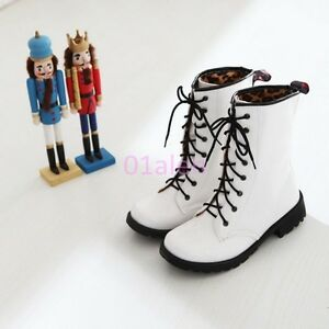 Womens-Round-Toe-Sweet-Candy-Lace-Up-Military-Combat-Shiny-Leather-ANkle-Boots