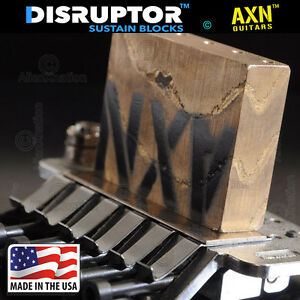 AXN-SuperWide-made-in-USA-Bronze-Boutique-Sustain-Block-42mm-for-floyd-rose