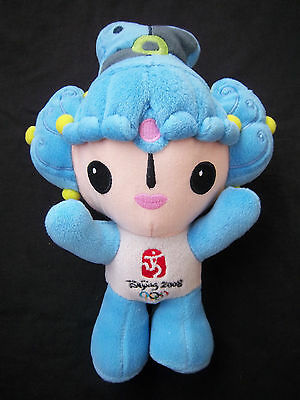 27 Cm / Mint Condition Responsible Orig.mascot Olympic Games Beijing 2008 Beibei ! 100% Guarantee