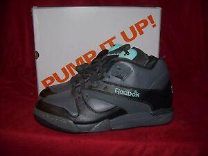 Reebok Court Victory PUMP CHANG Tennis Shoes Black Tar Blue Size 8 ... 3cb6cb94b18d