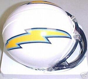 San Diego Chargers Nfl Replica Football Mini Helmet Ebay