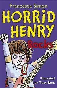 Horrid-Henry-Rocks-by-Francesca-Simon-Good-Used-Book-Paperback-Fast-amp-FREE-De