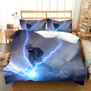 Naruto Kakashi Single/Double/Queen/King Bed Doona/Duvet/Quilt Cover Set