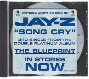 Jay z song cry promo w artwork music audio cd blueprint radio edit image is loading jay z song cry promo w artwork music malvernweather Gallery