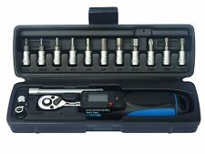 "15 Piece 1/4""D Digital Torque Wrench Set"