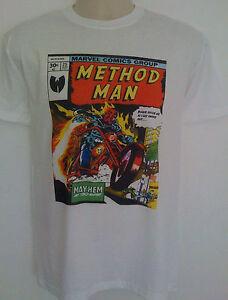 Method-Man-Comic-Style-T-shirt-Ghostface-killah-wu-tang-clan-mf-doom-hip-hop-rza