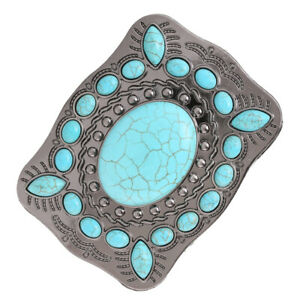 Turquoise belt buckle western buckles for ladies … Turquoise