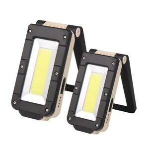 XPE-COB-LED-Flashlight-Torch-Work-Light-Magnetic-Folding-Lamp-USB-Rechargeable