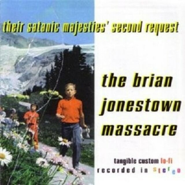 "BRIAN JONESTOWN MASSACRE ""THEIR SATANIC MAJESTIES' SECOND REQ"" 2 LP VINYL NEUWAR"