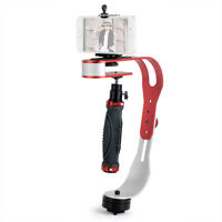 Red Handheld Steady Video Camera Stabilizer For Gopro Digital Cameras Camcorder