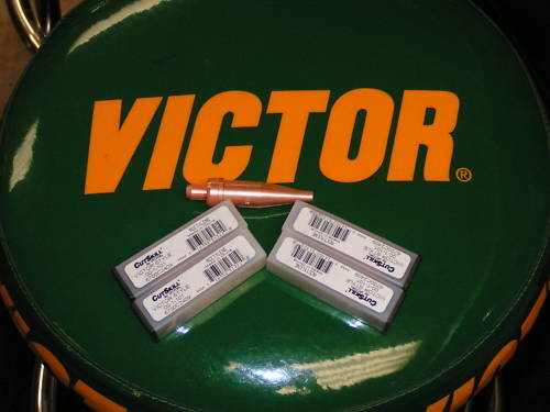 Victor cutting tips lot of 5 tips size 5 Cutskill