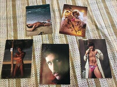 Chippendales Dancers 80/'s Novelty Cards lot of 5 GREETING CARDS NOS RARE Blank