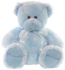 Teddy & Friends Frankie Bear [40cm] Soft Plush Toy - Blue NEW