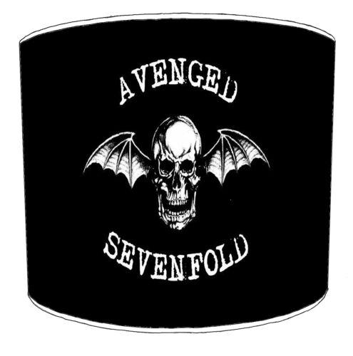 Black Sabbath AC-DC Aerosmith Avenged-Sevenfold Heavy Metal Rock Bands Lampshade