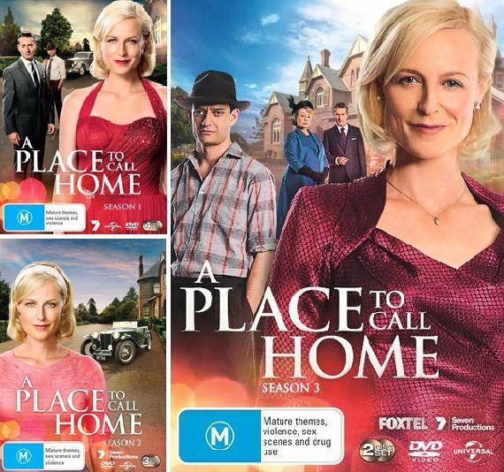 A Place To Call Home Seasons 1, 2 & 3 : NEW DVD
