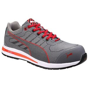 Puma-Men-039-s-643074-Xelerate-Knit-Low-Metal-Free-Safety-Work-Shoes-Stock-Clearance