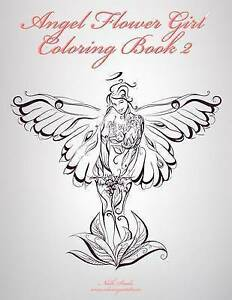 Angel Flower Girl Coloring Book 2 by Nick Snels (Paperback ...