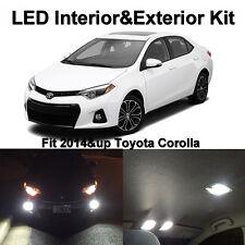 10 x White LED Interior Bulbs+ Fog + Reverse Lights For 2015 2016 Toyota Corolla