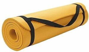 "Shop4Omni Yoga mat 72"" X 24"" - Extra Thick Exercise Mat - with Carrying Strap..."