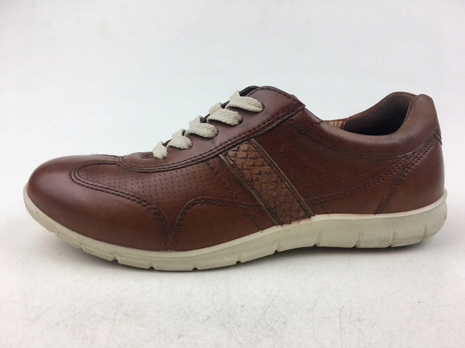 ECCO donna's Babett Lace Up scarpe da ginnastica Dimensione EUR 37, Mahogany 1320
