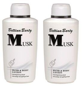 Bettina-Barty-MUSK-Body-Lotion-2-x-500-ml-Sparpack-Neu