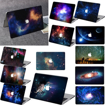 """Rubberized Galaxy Hard Case Cover For Macbook Air 11 Pro 13/""""15/"""" Touch Bar Retina"""