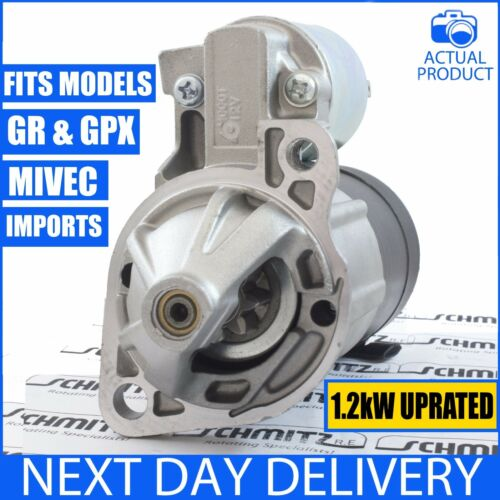 FOR MITSUBISHI FTO COUPE 2.0 V6 MIVEC /& GPX//GR//GP//GX 1992-2001 NEW STARTER MOTOR