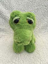 AURORA Stuffed Plush Light Green Shimmer DREAMY EYES Flicker ALLIGATOR Crocodile