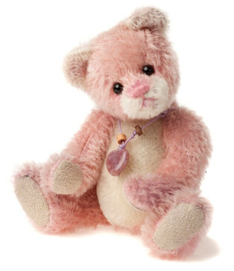 SPECIAL OFFER  Charlie Bears Mini Mohair Keyring BALLETschuhe