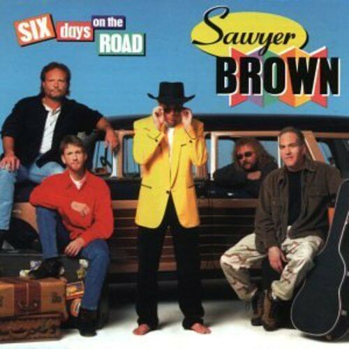 1 of 1 - Sawyer Brown - Six Days on the Road [New CD] Manufactured On Demand